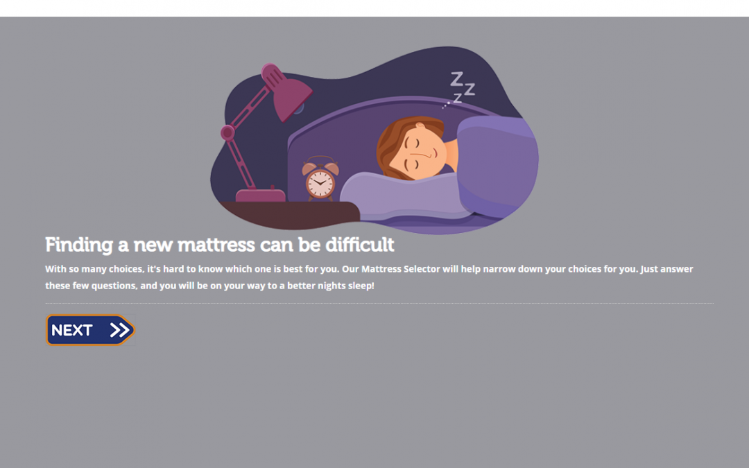 How our mattress selector can help you find the perfect mattress